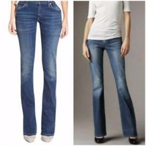 ELLE Low-Rise Stretch Bootcut Jeans